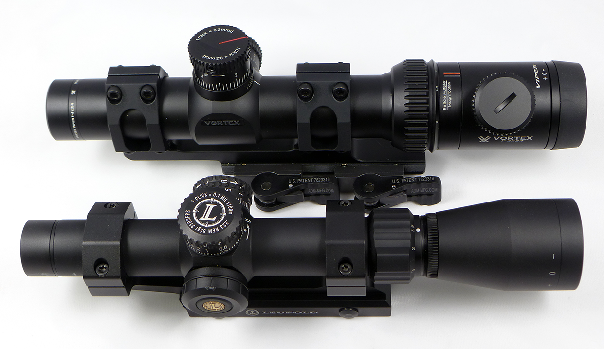 Leupold Mark AR Mod 1 and Vortex Viper PST Review